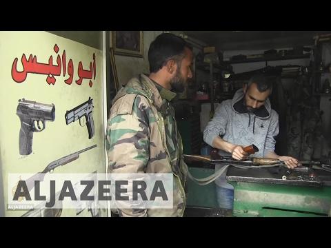 Syrian Gun Repair Shop