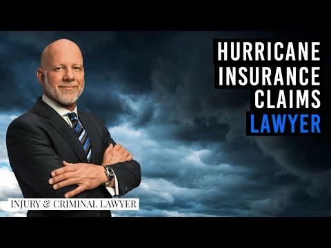 Florida hurricane insurance claims lawyer