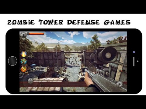 "Top 10 Best ""ZOMBIE"" Tower Defense Games Android/IOS"