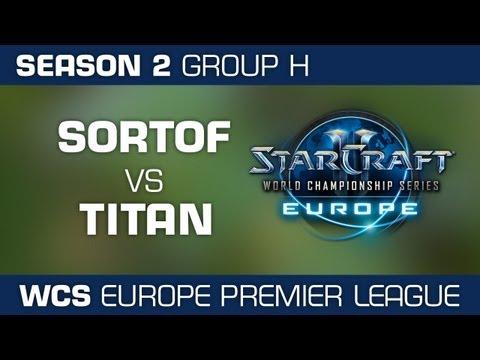 SortOf vs. TitaN - Group H Ro32 - WCS European Premier League - StarCraft 2
