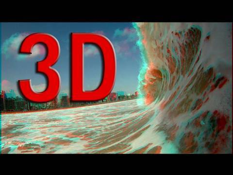 anaglyph 3d hd video test glasses needed youtube. Black Bedroom Furniture Sets. Home Design Ideas