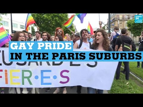 France holds first suburban gay pride rally