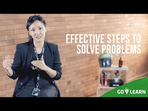 ▸▸  Effective Steps To Solve Problems // Nadia Tenggara💡GO-LEARN