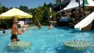 Детский бассейн в аквапарке в Адлере(Аквапарк в Адлере. 08.08.2014., 2015-08-29T07:35:34.000Z)