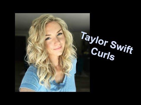 Taylor Swift Curls (How to) Short-Medium & Long Hair