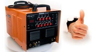 Обзор/Отзыв на сварочный инвертор Сварог TIG 200P AC/DC