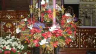 Sta. Monica Parish, Minalin, Philippines Advent Wreath Ceremony 2008