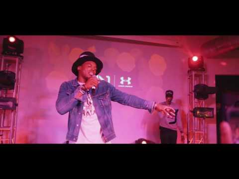 Cam Newton raps with 2 Chainz (Under Armour Recap)