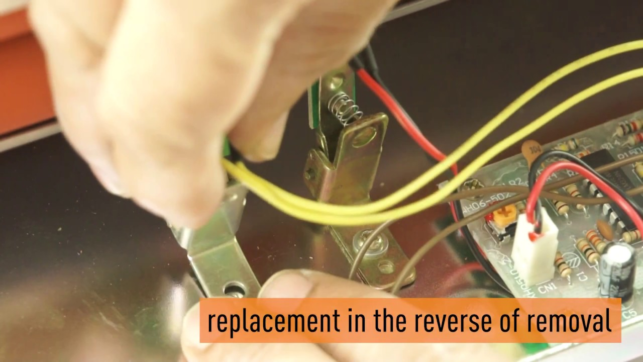 How to test and replace the heater