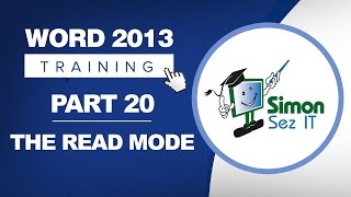 Word 2013 for Beginners Part 20: How to Open a Word 2013 Document in Read Only Mode
