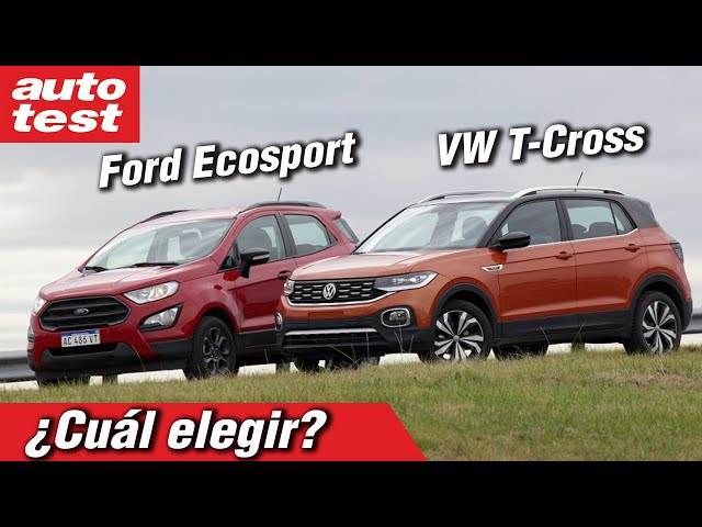 VW T-Cross vs Ford EcoSport: ¿Cuál elegir?