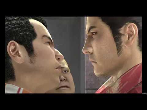 Yakuza 3 Remaster - 6  Boss Fight Rikiya ( No Damage Hard Mode )