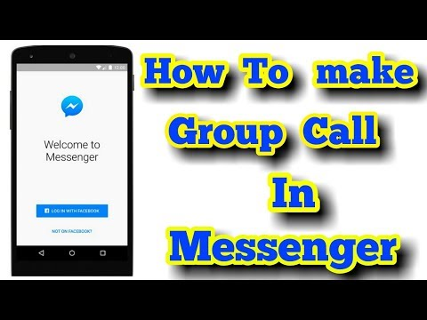 How To Make A Group/Conference Call In Messenger