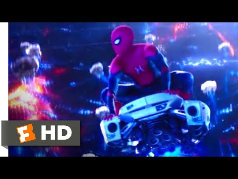 Spider-Man: Far From Home (2019) - Inside Mysterio's Illusion Scene (8/10) | Movieclips