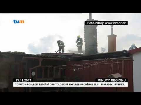 12.11.2017 9:54 Šternberk, Křížová,střecha rodinného domu od komína - TV Morava