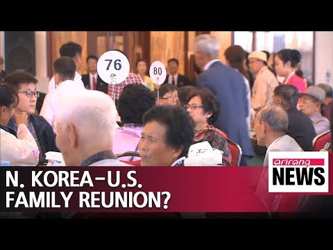 U.S. considering reunion for Americans and N. Korean relatives: Report