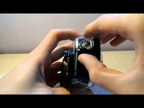 Cómo abrir la carcasa de la gopro hero 3 y poner la tapa sumergible/Tutorial