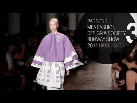 Parsons Mfa Runway Fashion Show 2014 Highlights Parsonsmfawgsn Youtube