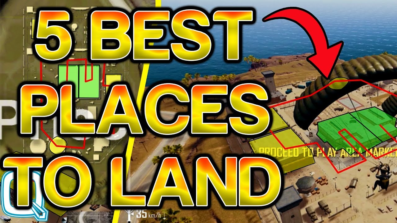 Playerunknown S Battlegrounds Maps Loot Maps Pictures: Top 5 Places To Land In MIRAMAR (Desert Map PUBG)