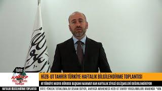 [13 Kasım 2018] Hizb-ut Tahrir Türkiye Haftalık Değerlendirme Toplantısı