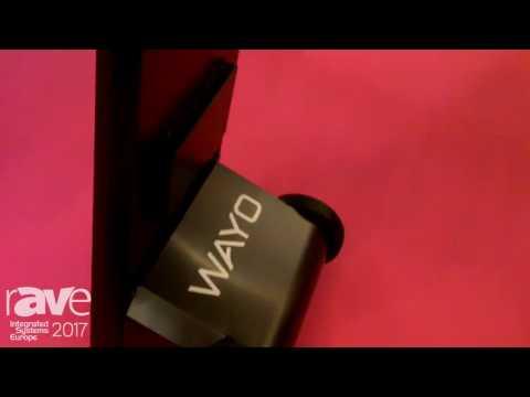 ISE 2017: Mobima Promotes Wayo Mobile Battery Powered Digital Sign