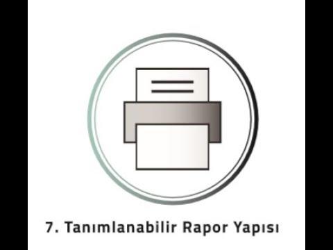 VİO - Farklılıklarımız 10 - Raporlar 2 (Tanımlanabilir Raporlar)