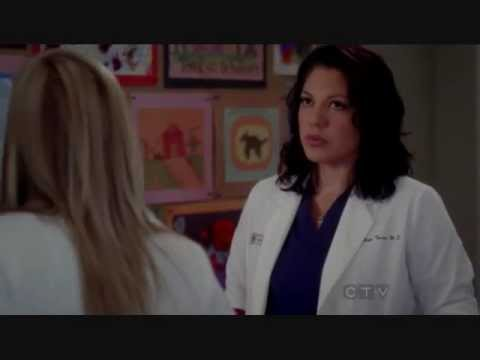Arizona is OK with Callie calling her Dr.Robbins