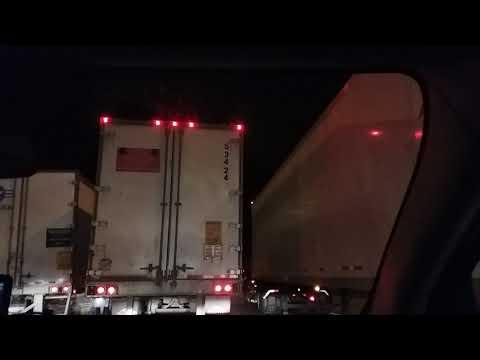 Traffic Jam in Indiana last night