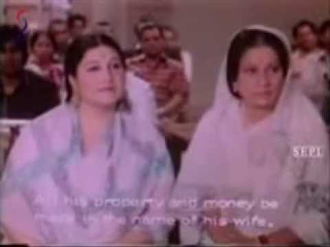 Charandas(1-1-1977)Kamla and Charandas in Court.