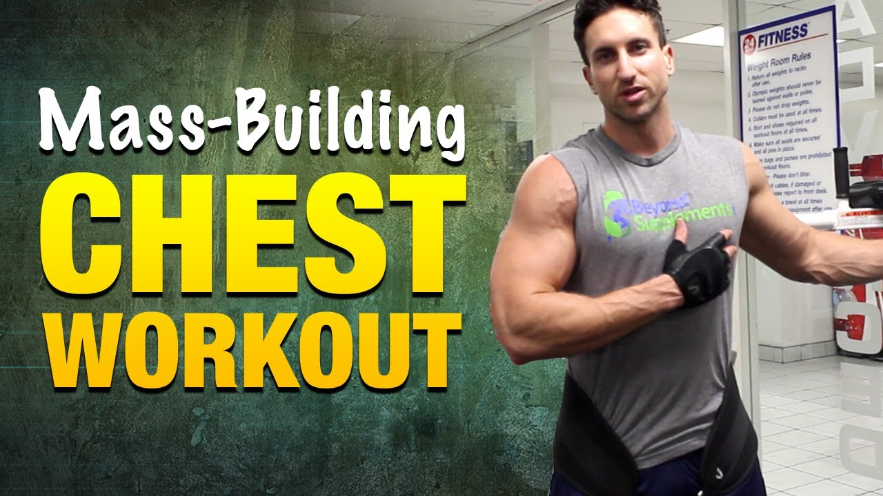 Chest Workouts For Mass Incredible Workout Routine Strong Muscular Pecs