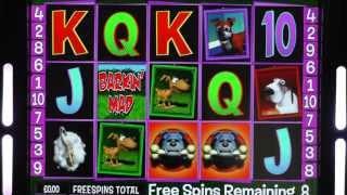 Barkin Mad £500 Video Slot Game (Barcrest 777)