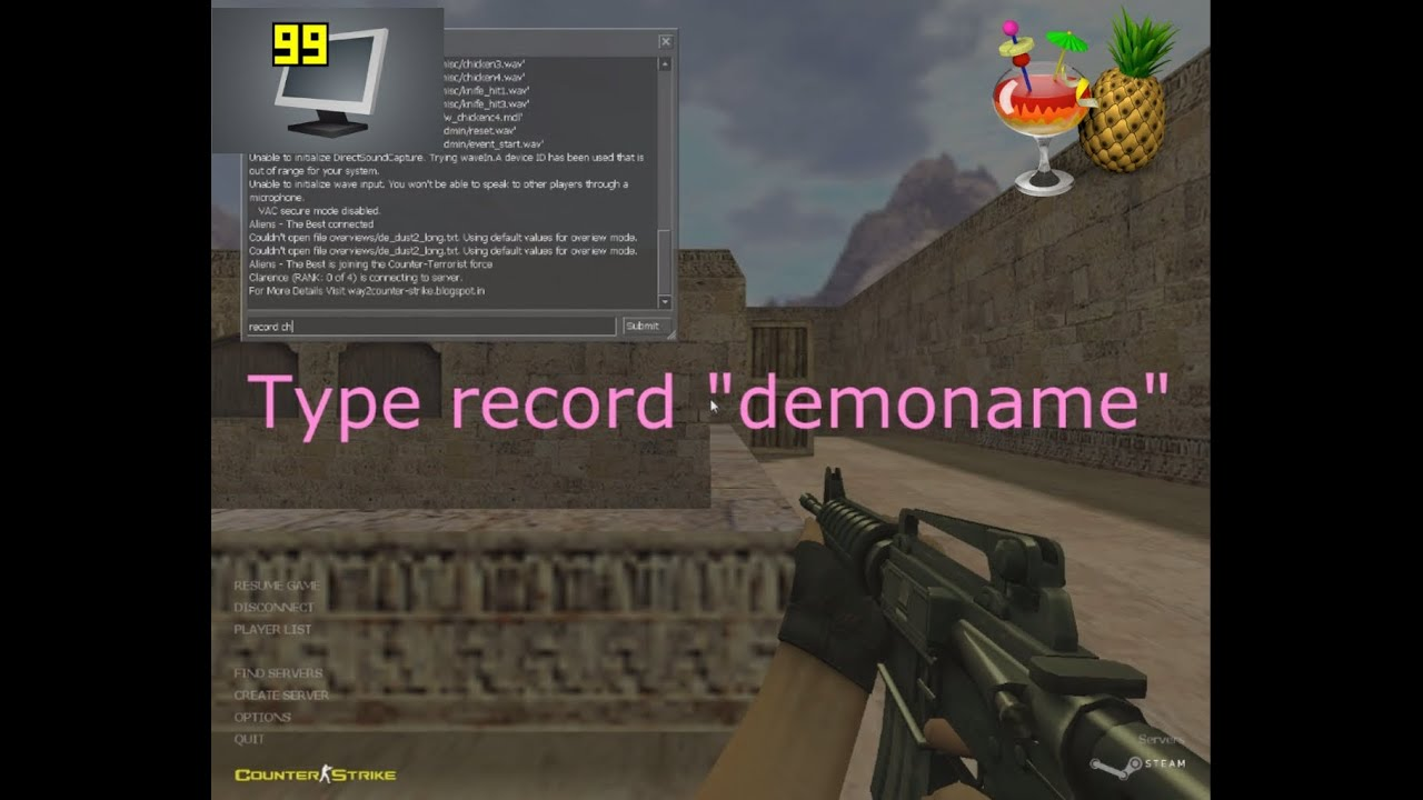 Kako editovati cs 1. 6 demo ~hlae~vdub~sony vegas youtube.