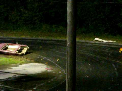 Saratoga Speedway Crash-to-Pass Boat Race 2009