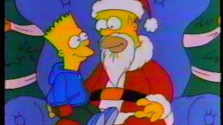 """""""The Simpsons"""" Christmas Special commercial (1989)"""