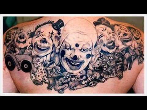 best clown tattoo youtube. Black Bedroom Furniture Sets. Home Design Ideas