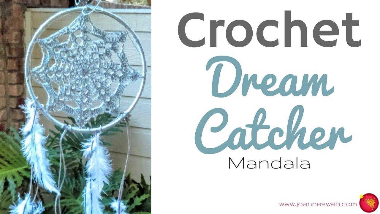 Crochet Dream Catcher Mandala Dorm Room Decor Diy Home Decor