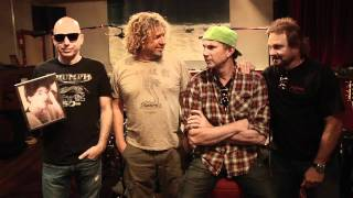 Chickenfoot - Greeting from the Studio Feb 2011