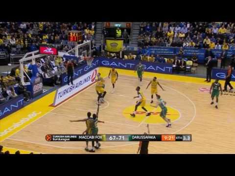 Ante Zizic shines for Darussafaka in Tel Aviv (Full Highlights)