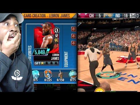 NBA 2K MOBILE GAMEPLAY! CARD CREATION, DIAMOND PLAYERS, EQUPPING SHOES, SEASON MODE & MORE! Ep. 2