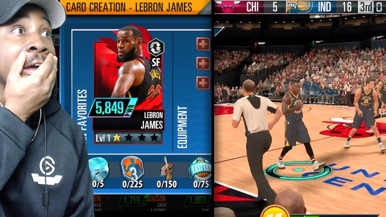 nba 2k mobile gameplay
