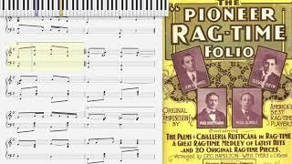 Gambar cover Douglas Club Rag by Al Johns (1902, Ragtime piano)