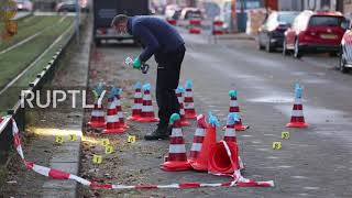 Subscribe to our channel! rupt.ly/subscribeseveral shots were fired at saudi arabia's embassy in the hague, on early thursday, according local police.poli...