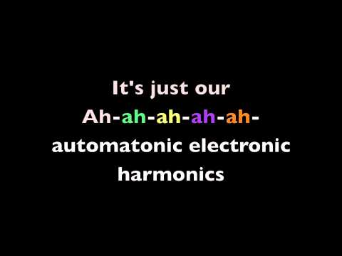 Automatonic Electronic Harmonics Lyrics by Steam Powered Giraffe