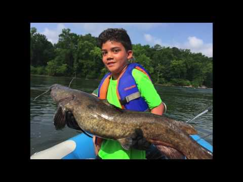 James River / Pony Pasture Flathead Catfish Trip - 06/15/17