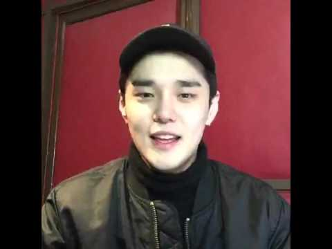 160127 Dean(딘) On Air 2 (Live cam on Facebook) - YouTube