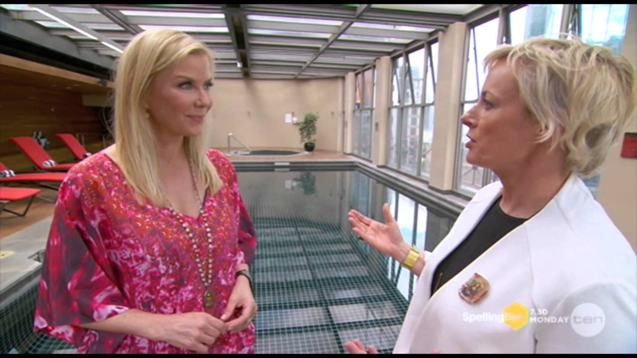 Cry off katherine kelly lang the living room australia youtube for The living room tv show australia