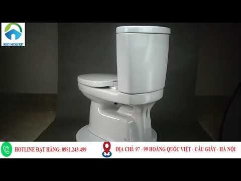 Bồn cầu Inax AC 702VRN Chính hãng - Giá Rẻ tại Big House - YouTube