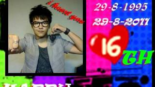 happy birthday ilham fauzie (video project)