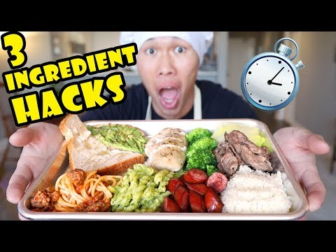 3 Ingredient Tasty Recipe Hacks — No Time to Cook! || Life After College: Ep. 631