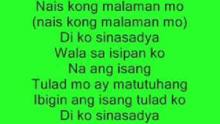 Repeat youtube video fixing a broken heart(tagalog version)-di ko sinasadya